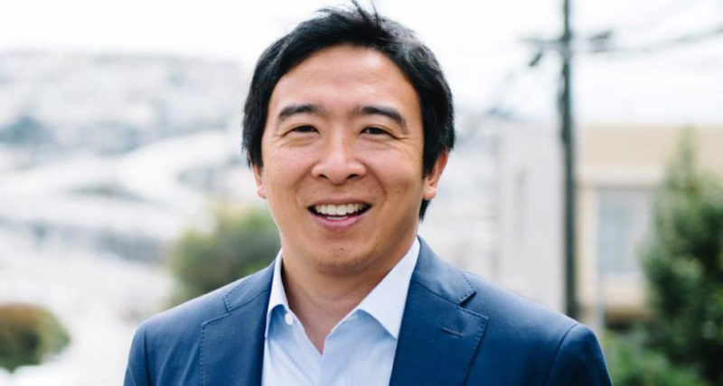 Andrew Yang Cryptocurrency Candidate