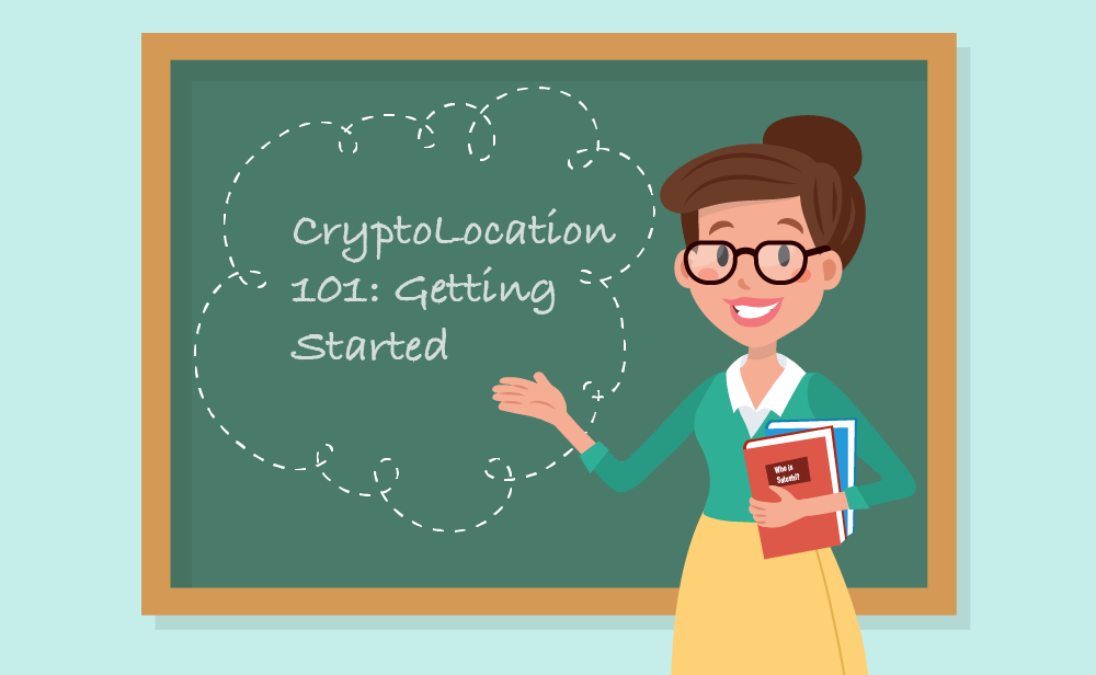 How to use CryptoLocation